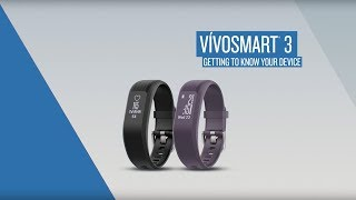 vívosmart 3: Getting to Know Your Device