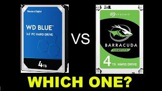 Seagate BarraCuda 4TB vs Western Digital Blue 4TB | Spec and Performance Comparison