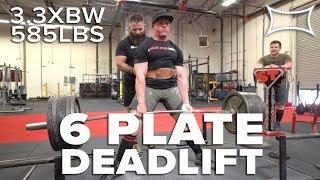 David Webb Pulls 3.3XBW Deadlift - 585lb PR