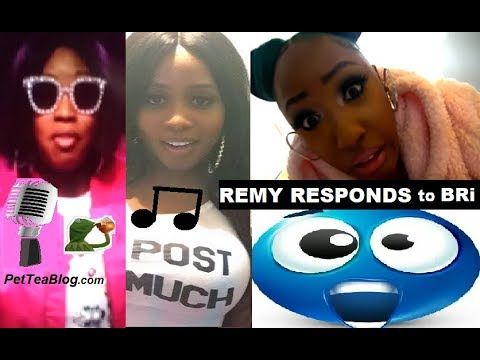 Remy Ma Responds to Bri in Rap Diss Freestyle 🎤😰 #LHHNY