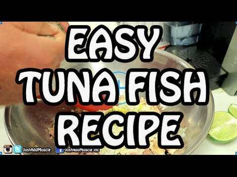Tuna Fish Recipe – tuna salad – albacore tuna wrap – tuna sandwich – fish recipes