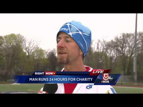 Man runs 24 hours to raise addiction treatment awareness