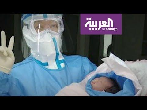 العرب اليوم - شاهد: كيف تستقبل ووهان الصينية الموبوءة بكورونا المواليد الجدد