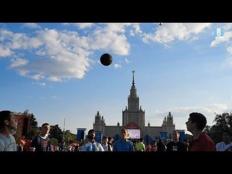 Así se vive el Fan Fest de Moscú