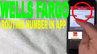 ✅  How To Find Routing Number In Wells Fargo App 🔴