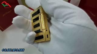 Bật lửa Dupont sơn mài kẻ đen D102 | Deva.vn | Giá 650.000 Đ