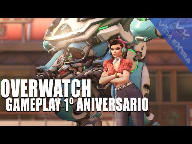 Overwatch - Dos horas de gameplay por su primer aniversario