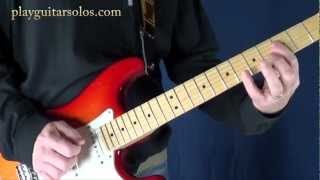Dire Straits Sultans of Swing on Guitar