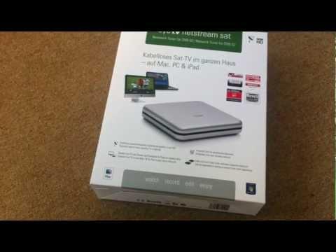 Unboxing: Elgato EyeTV Netstream SAT Netzwerk-Tuner für DVB-S2