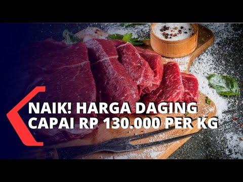 Harga Daging Capai Rp 130.000 Per Kilogram