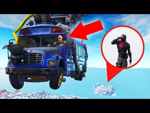 Fortnite HIDE AND SEEK Inside The BATTLE BUS!