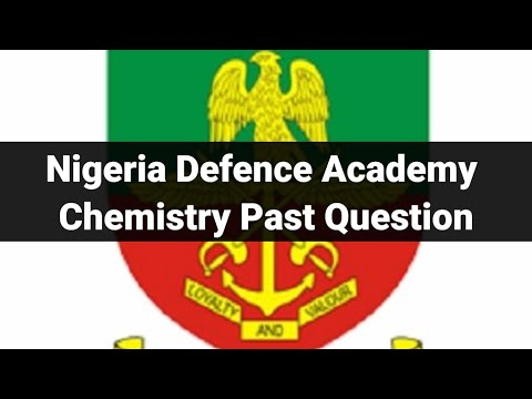 Nigeria Defence Academy (NDA) Past Questions and Answers part 1