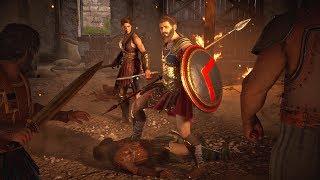 Assassin's Creed Odyssey - Epic Spartan Battle Cutscene