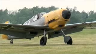 75 year old Messerschmitt BF109 E4 flys again