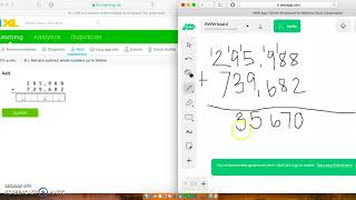 Add and subtract whole numbers up to billions