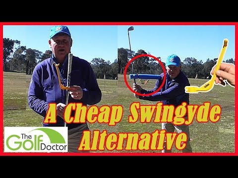 A Cheap Alternative To The Swingyde Golf Training Aid