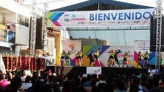 Santiago Tangamandapio, Baile Moderno, Jornadas COBAEM 2018