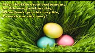 Happy Easter Sunday 2016 - Wishes, SMS, Whatsapp message, Greetings, Card, Blessings, Quotes