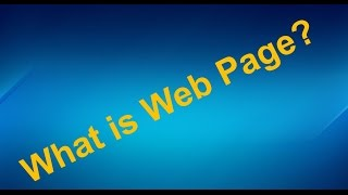 What is Webpage || Webpages Types