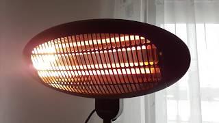 Blumefeldt Shiny Hot Roddy Wickeltischheizstrahler