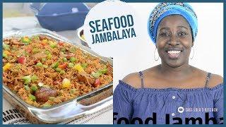COOK WITH ME: Seafood Jambalaya !