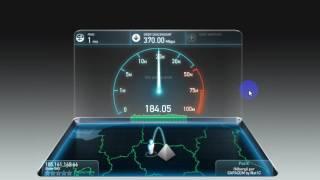 Speedtest De ma Blade Shadow Le PC du Futur Dans Le Cloud