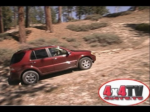 2002 Mercedes Benz ML500 Test - 4x4TV Test Videos