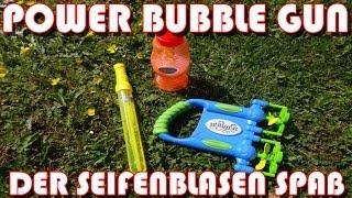 """""""POWER BUBBLE GUN: DER SEIFENBLASEN SPASS"""" -Vorstellung"""