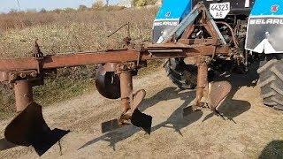 Навешивание и регулировка плуга ПЛН 3 35 на тракторе МТЗ 82.1