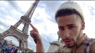 TOUCHING THE EIFFEL TOWER!!
