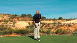 Stop thinning your iron shots in golf
