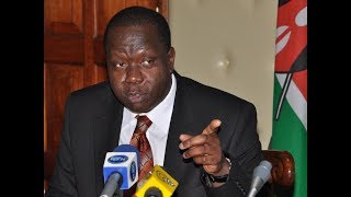High School Books: CS Matiangi cracks whip on politicians