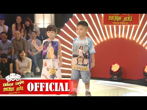 Hai bé Minion Minh Anh và Độc Lập - Thách Thức Danh Hài mùa 2