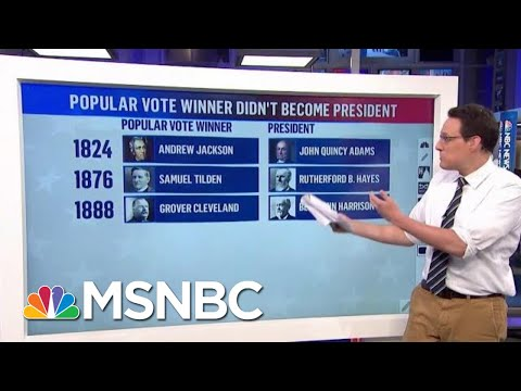 Kornacki: Trump Could Once Again Win By Pulling Electoral College, Losing Vote | MTP Daily | MSNBC