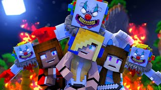 Minecraft Roleplay-Psycho Girl Show #3 - Clown Zombies Mystery *Minecraft Roleplay*
