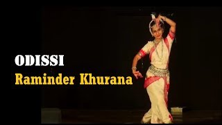 Odissi by Raminder Khurana at Mudra Fest 2012