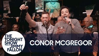 Jimmy and Conor McGregor Hang Out and Sing at an Irish Pub thumbnail
