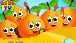 Five Little Oranges | Nursery Rhymes & Songs for Children | Cartoon Videos