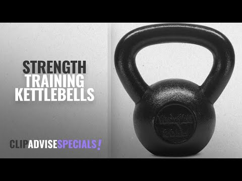 10 Best Strength Training Kettlebells : Yes4All Solid Cast Iron Kettlebell Weights Set – Great