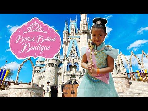Disney Bibbidi Bobbidi Boutique! Princess Thalia's makeover!