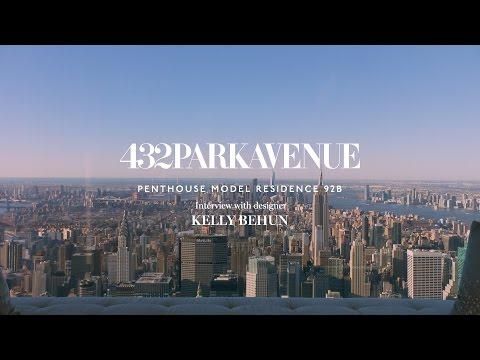 ⚔⚔⚔ Интервю с дизайнерката Кели Бехун и панорамна обиколка на пентхаус на 432 авеню.