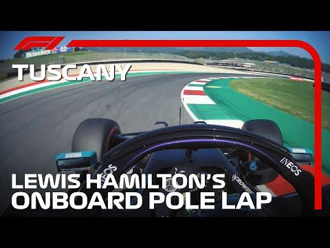ムジェロのトラックレコードを更新してポールポジションを獲得したルイス・ハミルトンのオンボード映像(F1 2020 第9戦トスカーナGP)