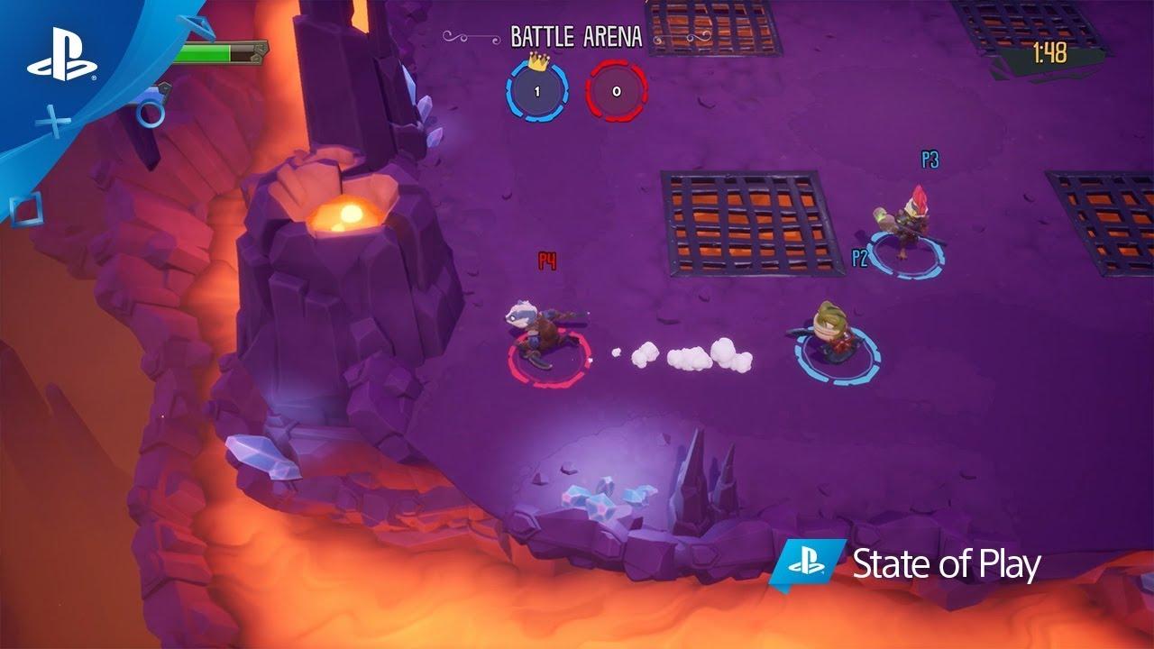 Presentamos ReadySet Heroes, un juego de mazmorras con un toque vertiginoso