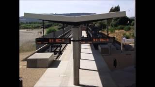 preview picture of video 'Annunci alla Stazione di Carbonia-Serbariu'