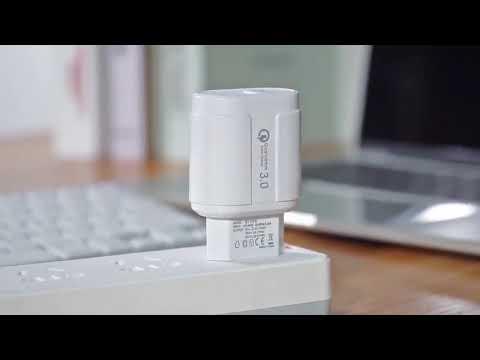 Сетевое зарядное устройство быстрая зарядка адаптер Qualcomm Quick Charge 3.0 / QC 3.0 черный (QC-21951) Video #1
