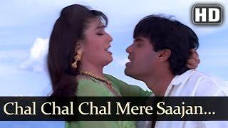 Chal Chal Chal Mere Sajan - Sunil Shetty - Raveena Tandon