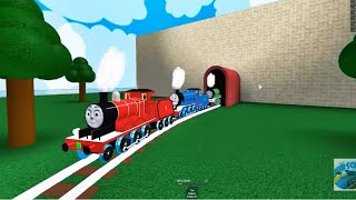 THOMAS AND FRIENDS Crashes Surprises Thomas & Trains run through the tunnel