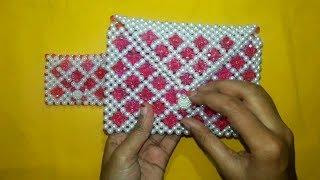 DIY-Designer Handbags    How To Make Beaded Bags    Beaded Purse    Beaded Clutch