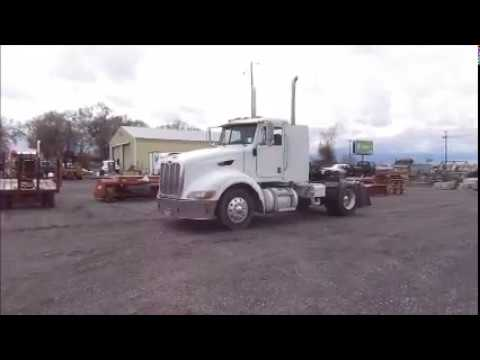 T 379 2007 Peterbilt 386 Day Cab Tractor Truck HiBid Auctions