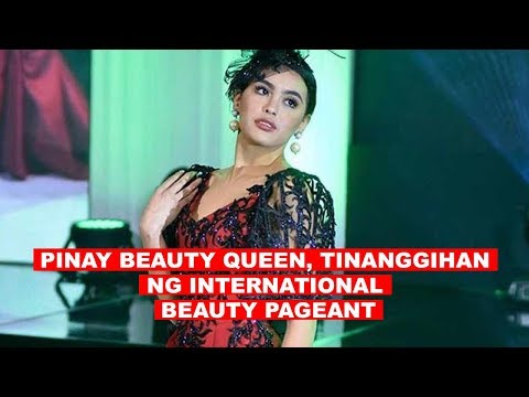 [DZRH]  PINAY BEAUTY QUEEN, TINANGGIHAN NG INTERNATIONAL BEAUTY PAGEANT
